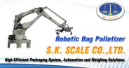 Robotic Bag Palletizer for sugar